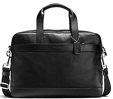 COACH Hamilton leather Briefcase bag