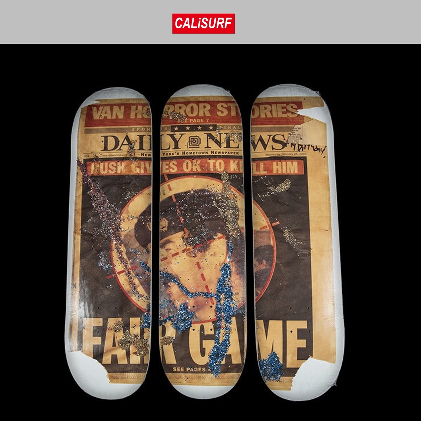 FW2016 (シュプリーム)SUPREME SKATE DECK SET