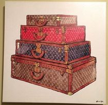 Oliver Gal★The Royal Luggage★LVモチーフ★キャンパスアート