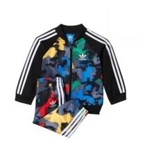 ADIDAS KIDS ORIGINALS☆YWF SUPERSTAR SET 上下セットS95929