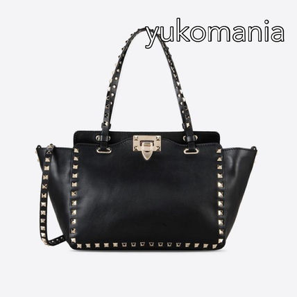 VALENTINO rock studded small tote