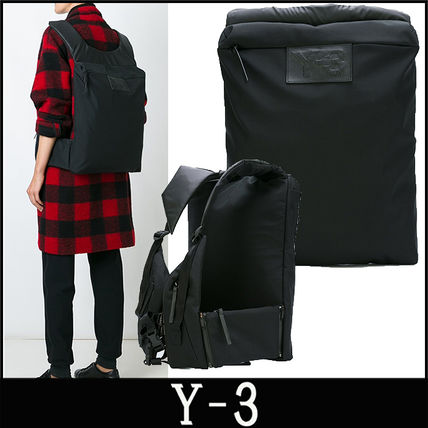 "16-17AW 新作 ""Y-3"" スクエア ラージバックパック"