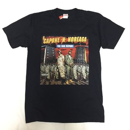 16aw Supreme the war report Tee Tシャツ M 黒