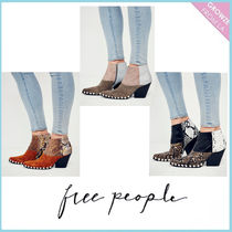 【Free People】新作ショートブーツ☆Deville Western Boot☆3色