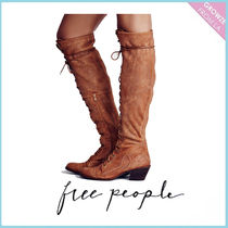 【Free People】レースアップロングブーツ☆Joe Lace Up Boot