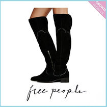 【Free People】ニーハイブーツ Cara Eyelet Over The Knee Boot