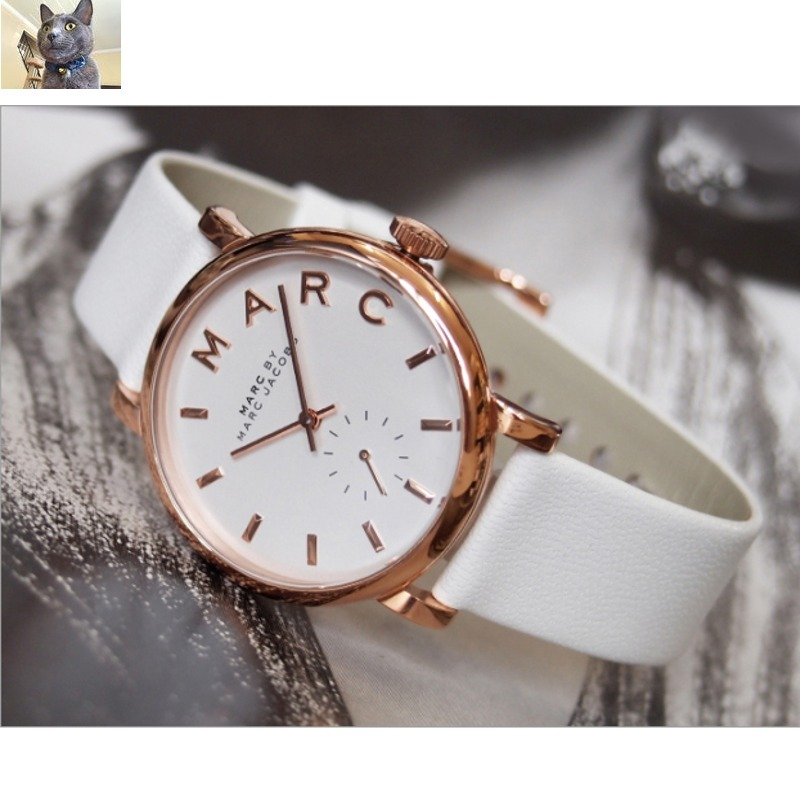 Marc by Marc Jacobs//レザーウォッチBaker MBM1283♡