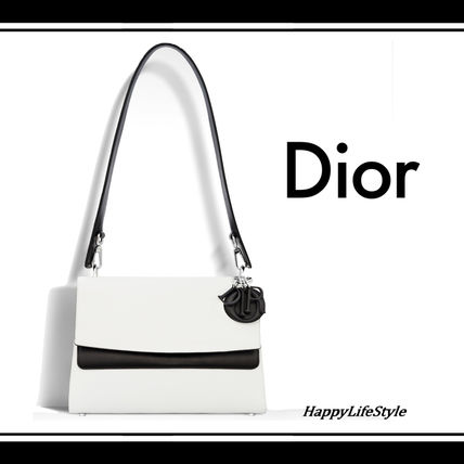 Dior ショルダーバッグ・ポシェット 大人の透明感◇BE DIOR Double Flap バッグ◇Christian Dior