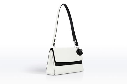 Dior ショルダーバッグ・ポシェット 大人の透明感◇BE DIOR Double Flap バッグ◇Christian Dior(2)