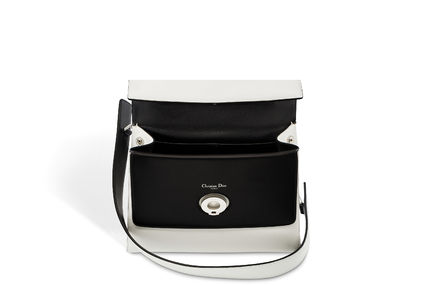 Dior ショルダーバッグ・ポシェット 大人の透明感◇BE DIOR Double Flap バッグ◇Christian Dior(3)