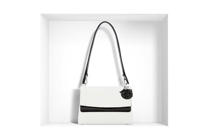 Dior ショルダーバッグ・ポシェット 大人の透明感◇BE DIOR Double Flap バッグ◇Christian Dior(5)