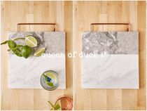 Urban Outfitters(アーバンアウトフィッターズ) キッチン小物 送込み_国内発送_UO*Marble Cutting Board♪