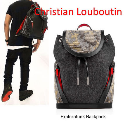 Christian Louboutin☆ EXPLORAFUNK スパイク バックパック
