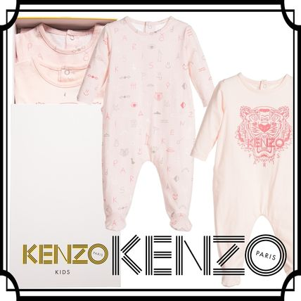 16-17AW KENZO☆ベビー タイガーロゴ ロンパース ギフトセット