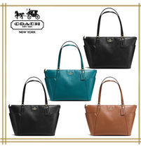 COACH★AVA TOTE IN PEBBLE LEATHER F37216 国内発送!関税込み