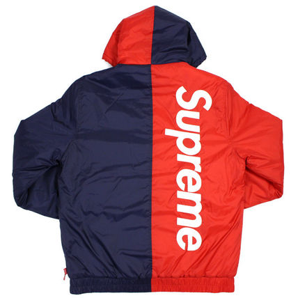 15AW Supreme 2-tone Sideline Jacket Red 赤 Lサイズ