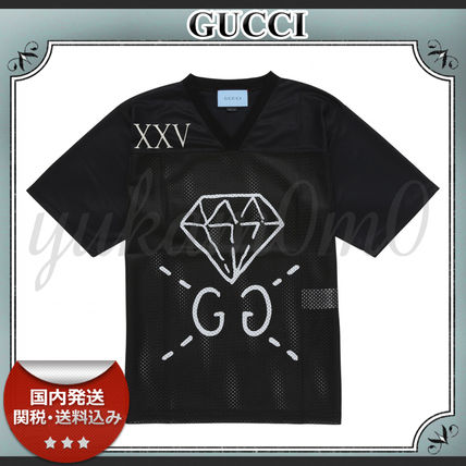 16-17AW/送関込≪GUCCI≫ Ghost メッシュ Tシャツ