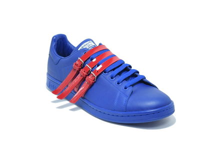 国内発送 ADIDAS RAF SIMONS STAN SMITH BLUE スタンスミス