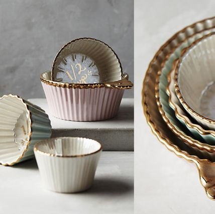 Anthropologie * present the measuring cups, set of 4