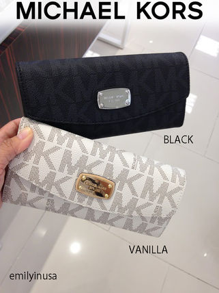 Michael Kors☆大人気★JET SET ITEM SLIM FLAP WALLET 長財布