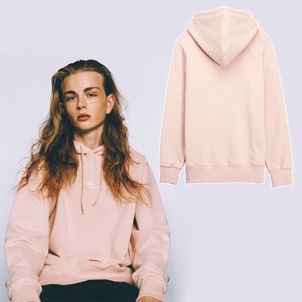 AW16Music STEREO Logo hoodie Pink S〜XL