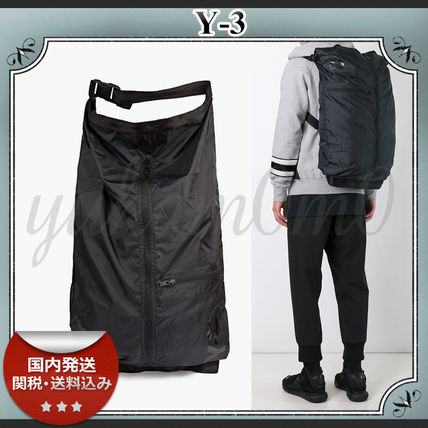 16-17AW/送関込≪Y-3≫ Packable ナイロン バックパック