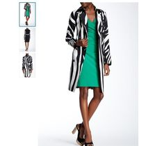 DVF:Libby Wool Blend Print Trench Coat