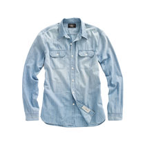 RRL&Co ダブルアールエル☆WAVERLY CHAMBRAY WORKSHIRT