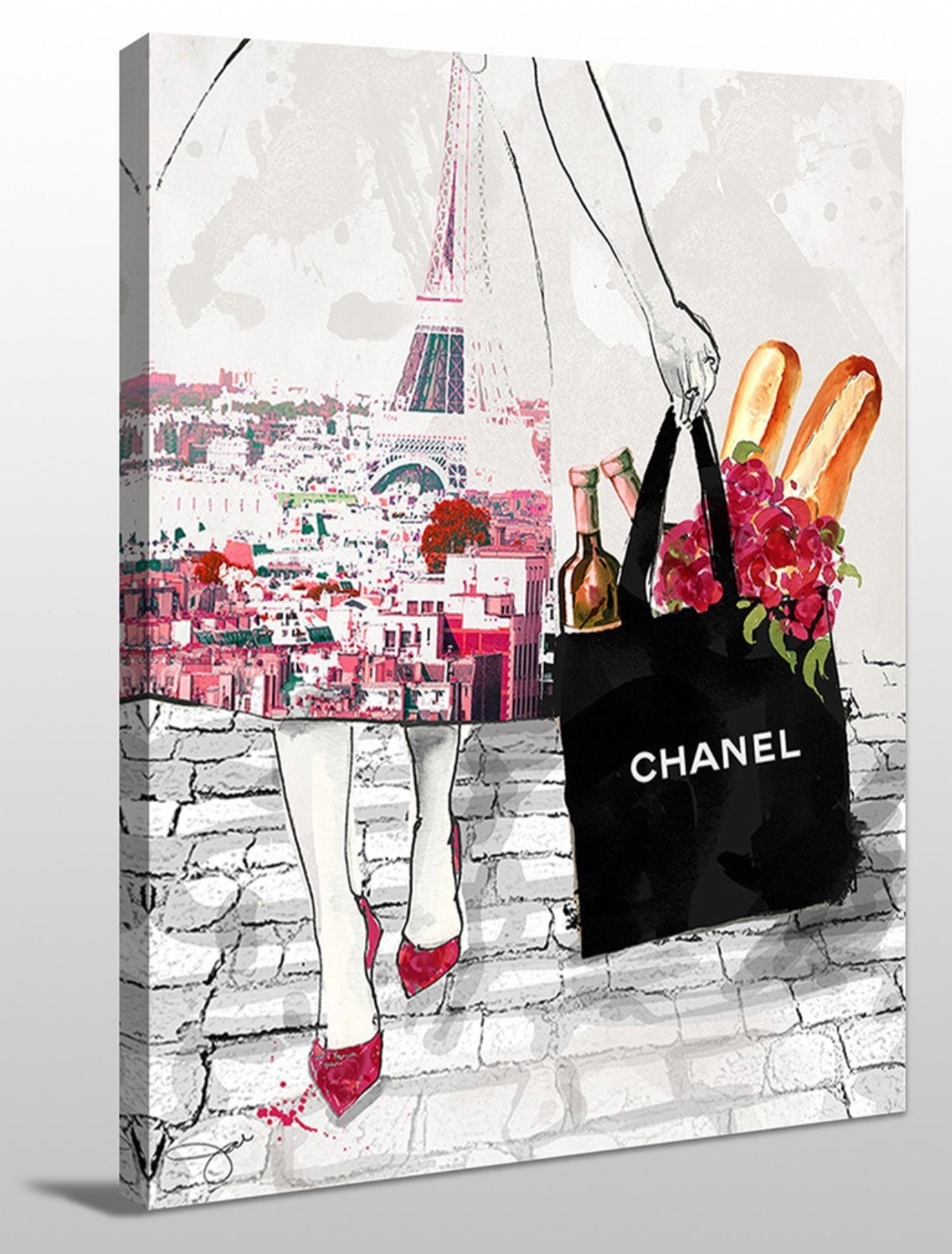 ★Chanelモチーフ★Dinner for Two★キャンバスアート 3サイズ