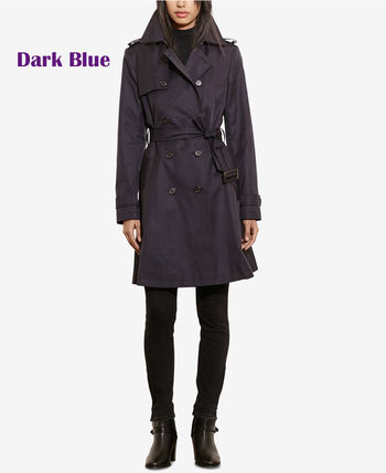 Ralph Lauren トレンチコート ラルフローレン★4色あり♪定番Double-Breasted Trench Coat(3)