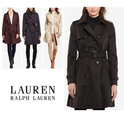 Ralph Lauren トレンチコート ラルフローレン★4色あり♪定番Double-Breasted Trench Coat