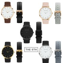 The Fifth Watches(ザ フィフス ウォッチ) アナログ腕時計 毎月5日限定!The:5th Watches レザーウォッチ NEWYORK