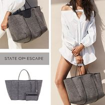 RH取扱【State of Escape】トートバック ☆charcoal marle