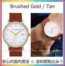 送料税込【The Horse】D-Series☆Brushed Gold / Tan♪国内発送