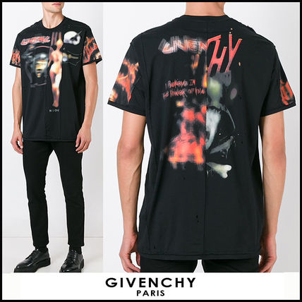"16-17AW 新作 ""GIVENCHY"" Heavy Metal Tシャツ"