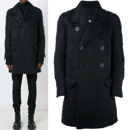16-17AW RO093 MOHAIR DOUBLE BREASTED COAT