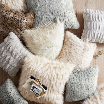 PotteryBarn this Faux-Fur Pillow Covers