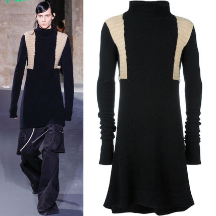 16-17AW RO102 LOOK23 A-LINE LONG SWEATER