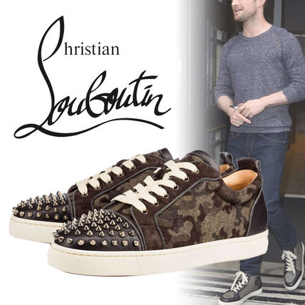 Christian Louboutin Louis Junior フランネル スニーカー