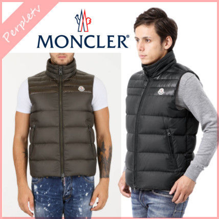 2016AW新作★MONCLER 大人のブラウン★dupres ダウンベスト