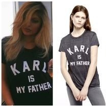 ELEVEN PARIS(イレブンパリ ) Tシャツ・カットソー 即発☆ ELEVEN PARIS カイリー愛用 Tシャツ Karl is My Father