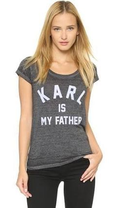 ELEVEN PARIS Tシャツ・カットソー 即発☆ ELEVEN PARIS カイリー愛用 Tシャツ Karl is My Father(4)