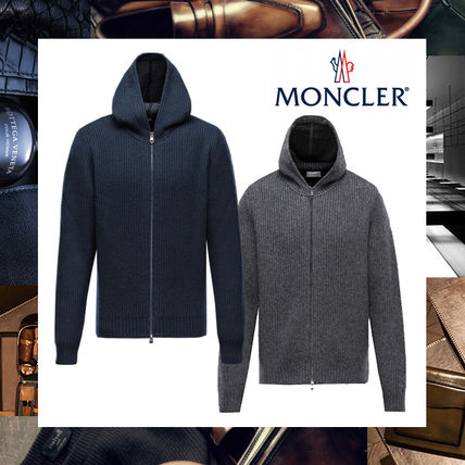 2016-17AW新作モンクレール【MONCLER】★フード付ニットパーカー