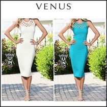 VENUS*SLIMMING MIDI DRESS