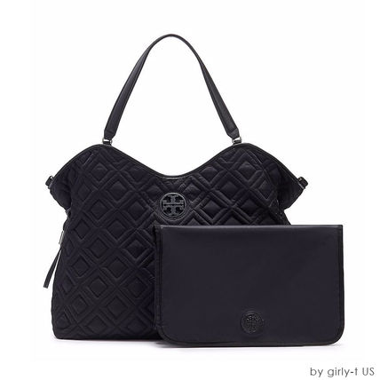 Tory Burch マザーズバッグ ☆Tory Burch☆ MARION QUILTED SLOUCHY マザーズバック(9)