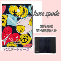 kate spade 旅行に!ポップ&キュートなパスポートケース国内発送