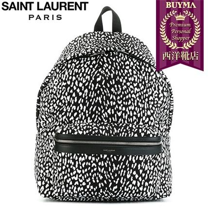 16/17秋冬入荷!┃SAINT LAURENT┃BABYCAT PRINT HUNTING BACKPA