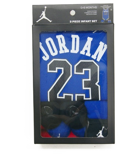 ベビー用 NIKE Jordan 3PIECE INFANT SET/Royal