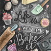Lily and Val☆お洒落なアートポスターLife is what you bake it