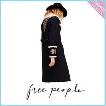 【Free People】コート Boiled Wool Faux Shearling Coat